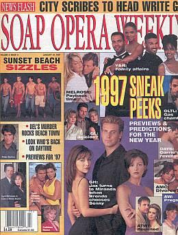 Soap Opera Weekly January 21, 1997