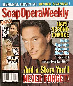 Soap Opera Weekly Jan. 22, 2008