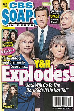 CBS Soaps In Depth - Jan. 22, 2018