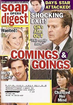 Soap Opera Digest Jan. 23, 2007
