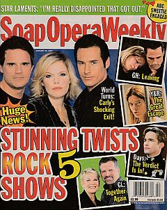Soap Opera Weekly January 23, 2007