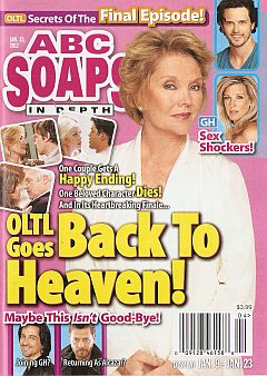 January 23, 2012 issue of ABC Soaps In Depth magazine