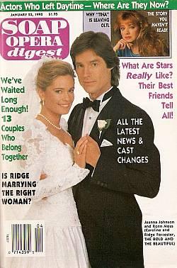 Soap Opera Digest January 23, 1990