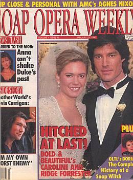 Soap Opera Weekly - January 23, 1990