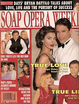 Soap Opera Weekly January 23, 1996
