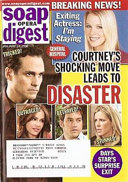 Soap Opera Digest Jan. 24, 2006