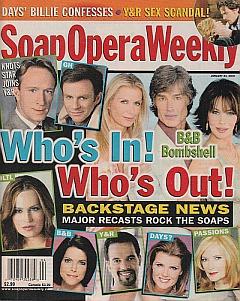 Soap Opera Weekly January 24, 2006