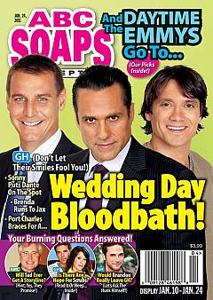 January 24, 2011 issue of ABC Soaps In Depth magazine