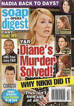 January 24, 2012 issue of Soap Opera Digest magazine