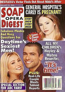 Soap Opera Digest - January 25, 2000