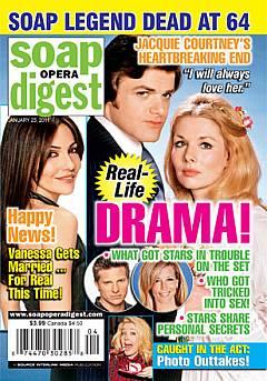 January 25, 2011 issue of Soap Opera Digest magazine