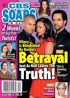 CBS Soaps In Depth Jan. 26, 2015