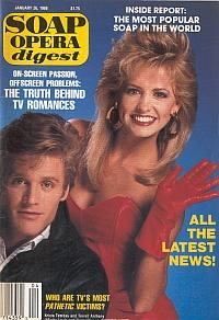 Soap Opera Digest January 26, 1988