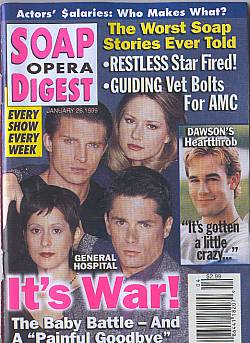 Soap Opera Digest - January 26, 1999