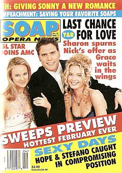 January 26, 1999 issue of Soap Opera News magazine