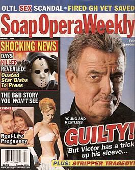 Soap Opera Weekly January 27, 2004