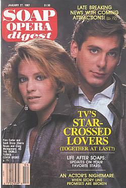 Soap Opera Digest January 27, 1987