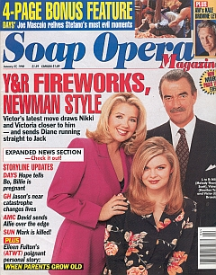 Soap Opera Magazine January 27, 1998