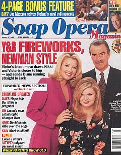 Soap Opera Magazine January 27, 1998