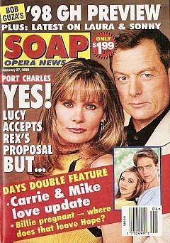 January 27, 1998 issue of Soap Opera News magazine
