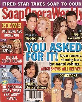 Soap Opera Weekly January 28, 2003