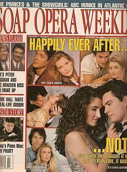 Soap Opera Weekly January 28, 1992