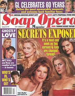 Soap Opera Magazine January 28, 1997
