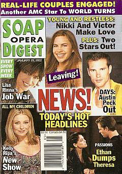 Soap Opera Digest Jan. 29, 2002