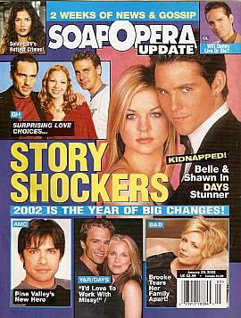 Soap Opera Update January 29, 2002