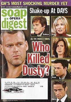 Soap Opera Digest January 29, 2008