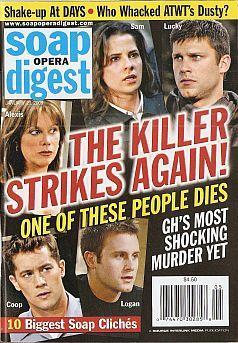 Soap Opera Digest Jan. 29, 2008