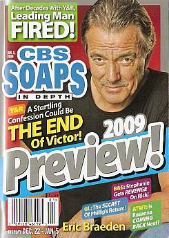 CBS Soaps In Depth January 5, 2009