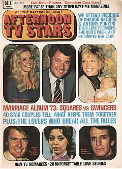 January 1974 issue of Afternoon TV Stars soap opera magazine
