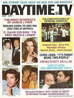 Daytime TV - January 1976