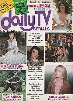 Daily TV Serials January 1976