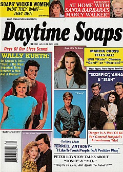 Daytime Soaps January 1988