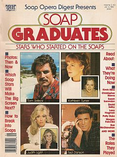 January 3, 1989 issue of Soap Graduates soap opera magazine from Soap Opera Digest