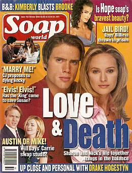Soap World October 2000
