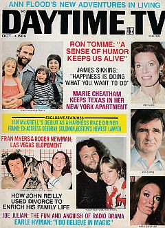 October 1975 issue of Daytime TV soap opera magazine