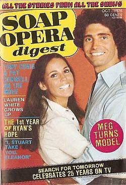 October 1976 issue of Soap Opera Digest