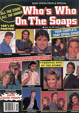Soap Opera People Special October 1988