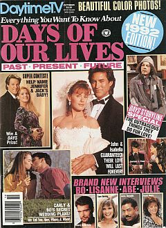 October 1992 issue of Everything You Want To Know About Days Of Our Lives magazine