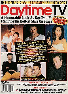 October 1999 issue of Daytime TV soap opera magazine