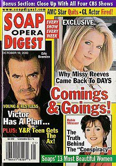 Soap Opera Digest - October 10, 2000