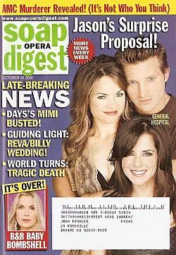 Soap Opera Digest Oct. 10, 2006
