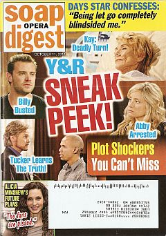 October 11, 2011 issue of Soap Opera Digest magazine