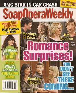 Soap Opera Weekly - October 11, 2011