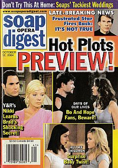 Soap Opera Digest Oct. 12, 2004