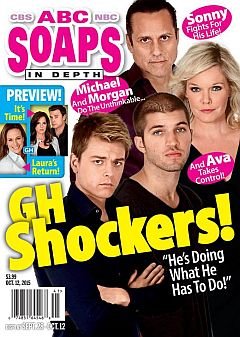 October 12, 2015 issue of ABC  Soaps In Depth magazine