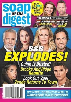 Soap Opera Digest October 12, 2020